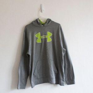 XXL Loose Sweatshirt Under Armour Green Grey
